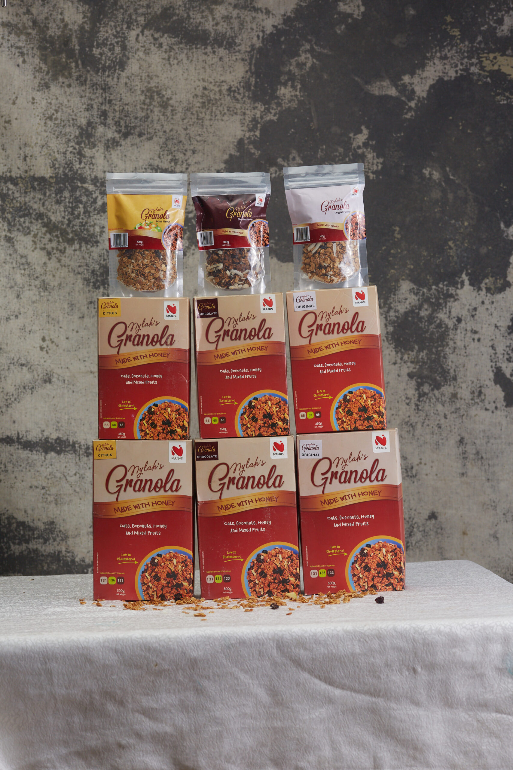 all granola flavours - nylahs